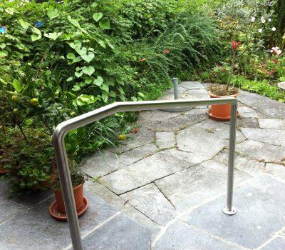 Umbau: Handlauf Garten
